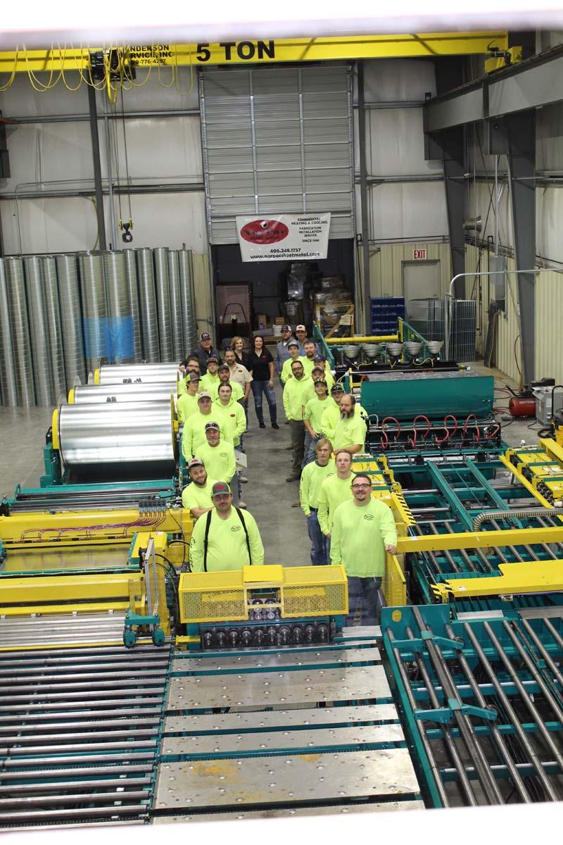 Custom Fabrication Billings Mt Norpac Sheet Metal Inc